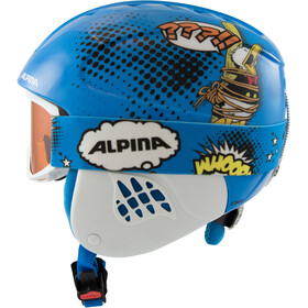 Alpina Carat Set Disney Casque Enfant, Donald Duck